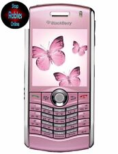 Blackberry Pearl 8110 Rose (Sans Simlock) 4 Volume 2mp DEL Flash GPS Bluetooth bien