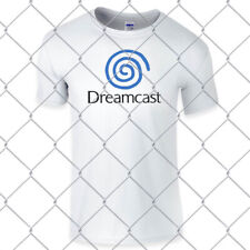 SEGA  DREAMCAST Retro super high quality premium white T Shirt in Pal & NTSC