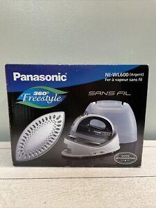 Panasonic Cordless / wireless Steam Iron NI-WL600 360 Freestyle in Silver NEW