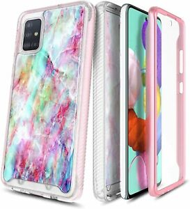 For Samsung Galaxy Note 10 Lite Case Built-In Screen Protector Phone Cover