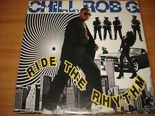 CHILL ROB G - RIDE THE RHYTHM - LP 1989 - CANADA RELEASE