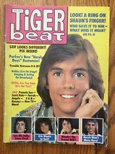 Tiger Beat Magazine October 1977 Shaun Cassidy Leif Garrett Charlie's Angels