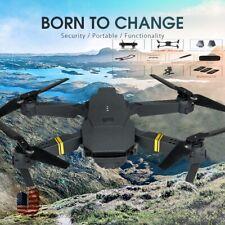 E58 RC Drone x pro +Batteries WIFI FPV 2MP 1080P 4KHD Camera 2.4Ghz Quadcopter H
