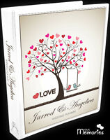 Wedding Planner/ Tree of Love Gift Personal /Diary/Organiser/Engagement Present