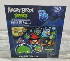 Jigsaw Puzzle - Rovio Angry Birds Space Super 3D - 150 Pieces 12×18