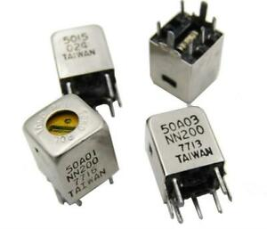 IF 455 kHz Radio Transformer Coil Set -  Yellow White Black CAN 10mm