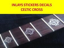 INLAY CROSS CELTIC STICKERS VISIT OUR STORE WITH MANY MORE MODELS GUITAR CUSTOM