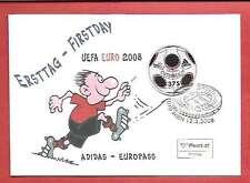 FDC Österreich EURO 2008 Adidas-Europass ETSSt 12.3.2008 1010 Wien