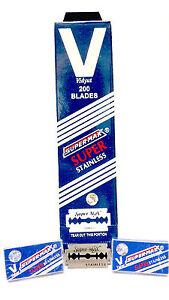 1000 SuperMax Super-Max Double Edge Safety Razor Blades