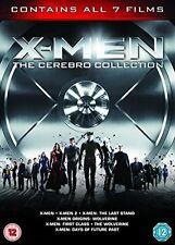 X-Men - The Cerebro Collection 7 Films Box Set DVD 2014