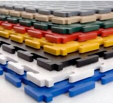 1 x Small SAMPLE Of our 7mm Pvc Interlocking Workshop Flooring Tiles Gym Garage