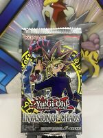 Yu-Gi-Oh! Invasion Of Chaos Booster Pack Sealed Brand New - Yugioh