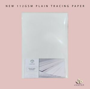 Tracing Paper A4/A5/A3 112gsm+ 180gsm Highest Quality in the UK. Arts&Crafts