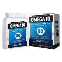 Cod Liver Oil - Omega 3 Capsules | Heart | Joint | Brain | Plus Vitamin A & D3