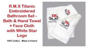 RMS White Star Line Titanic Towel Gift Set