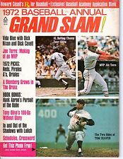1972 Grand Slam Baseball magazine, Tom Seaver, New York Mets, Joe Torre ~ Good
