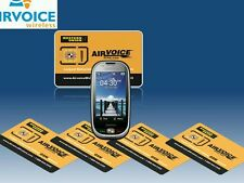 We do Fast easy and quick Airvoice sim card activations here. Any Area Code
