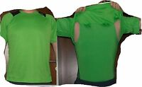 adidas Doppeltes Laufshirt Grün neon Gr. S Climacool Formotion Funktionsfaser