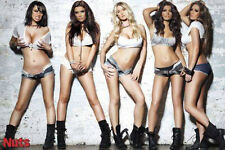 Poster EROTIC (Nuts) - Five Girls / Denim Hot Pants ca90x60cm NEU 57681