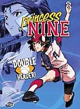 Princess Nine  Vol. 2: Double Header (DVD, 2002) Anime Comedy DVD Like New