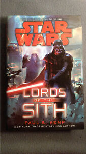 Star Wars Lords of the Sith By Paul S. Kemp (2015, Hardcover) 1st Edition