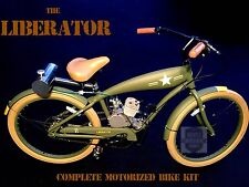 *The Liberator* - Motorized Bicycle Kit - Diy and save - One Of A Kind!