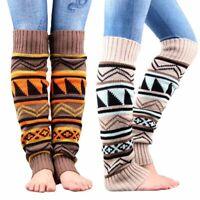 chaud legging bas tricoter du crochet jambière longtemps botte chaussettes