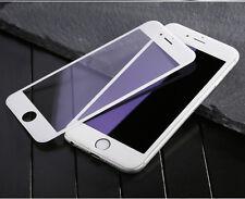 Protezione SCHERMO IN VETRO PRIMA piena 3D bordo a bordo per iPhone 6 S 6 (Bianco)
