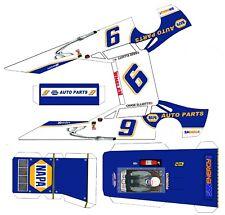 "#9 Chase Elliott NAPA  Asphalt Modified Laminated Body Slot Car 4"" 1/24th"
