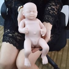 "Reborn 10"" Baby Doll Handmade Lifelike Vinyl Silicone Newborn Full Body Real Toy"