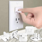 Outlet Covers Babepai 38-Pack White Child Proof Electrical Protector Safety Baby