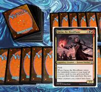 mtg BLACK RED GARNA RAKDOS COMMANDER EDH DECK Magic the Gathering rares judith