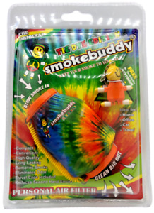"""Smoke Buddy Original PERSONAL AIR FILTER """"Tie-Dye"""" Lower Price SmokeFolks.com"""