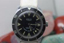 Vintage Original Orvin Hand Wind 17j Gran Sport 150 Men's Wrist Watch Running