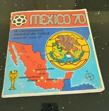 PANINI Mexico 70 (1970) World Cup Sticker ALBUM *ORIGINAL*