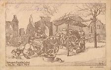 PC41968 Unsere Feldkuche. Lademann. 1915