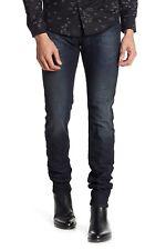 NWT Diesel Sleenker Slim Skinny Men's Distressed Jeans DENIM Blue Size 30 x 34