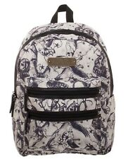 CLEARANCE NWT! Harry Potter BEASTS DOUBLE ZIP BACKPACK Deluxe Book Bag AUTHENTIC
