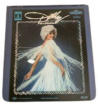 vtg rca EMI video diss Dolly Parton Live In London media collectable Retro
