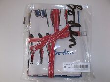 Boden Tea Towel Set of 3 BNIB Soldier Print, Dog, Blue & White Spots BD029SOLDIE