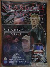 DVD COLLECTION STARGATE SG 1 PART 31 + MAGAZINE - NEW SEALED IN ORIGINAL WRAPPER