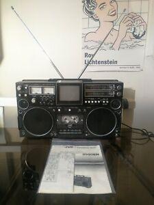 Rare Boombox Ghettoblaster jvc 3090en radio cassette TV full working rc m70 m90