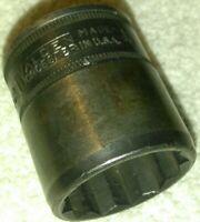"""Walden worcester 1"""" Socket 1/2 Dr 1832 USA"""
