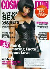 2011 Cosmopolitan Magazine: Nicki Minaj/Guys Top Sex Secrets/Confidence Boosters