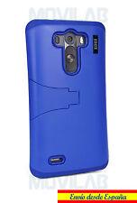 Funda LG D855 / G3 carcasa bumper con soporte Azul oscuro