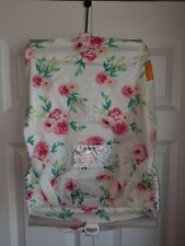 Binxy Baby Shopping Cart Hammock Infant Carrier Floral Pink Roses Full Bloom
