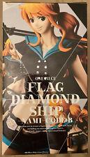 New listing Banpresto Figure Flag Diamond Ship Nami One Piece Japan import New Us Seller