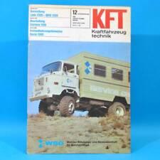DDR KfT Kraftfahrzeugtechnik 12/1981 Lada 1300 Zastava 1100 Suzuki Alto Fiat 83
