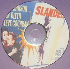 FILM NOIR 303: SLANDER (1957) Roy Rowland Van Johnson, Ann Blyth, Steve Cochran