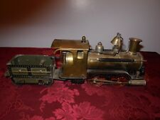 Marklin,American Outline,Live Steam,Loco+Tender,1 gauge, Early,Excellent,0-4-0